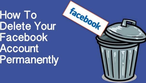 how to erase facebook account