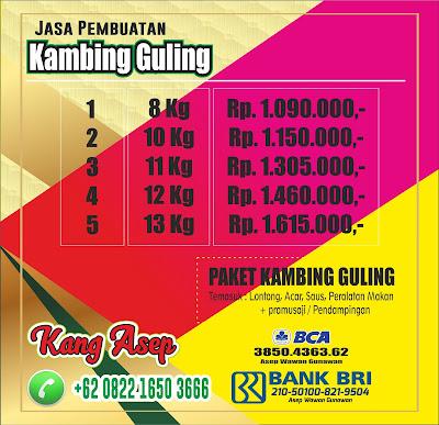Spesialis Pengolahan Kambing Guling Bandung