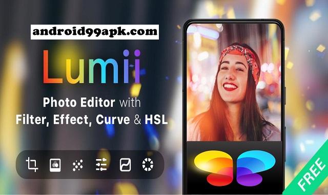 تطبيق تحرير صور Lumii Photo Editor v1.221.62 كامل بحجم 30 ميجابايت للأندرويد