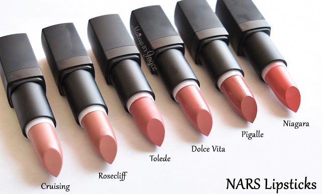 Nars Semi Matte Lipstick Pigalle Swatch Review