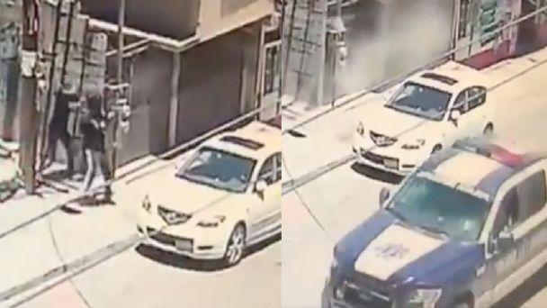 Video: En Tijuana grupo de Mini Sicarios se esconde tras barda y emboscan a patrulla que pasaba por el lugar
