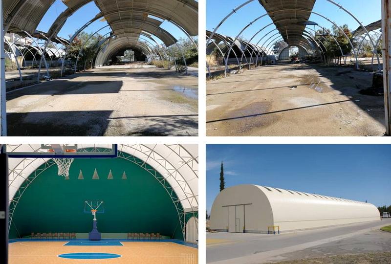 Διεκδίκηση των εγκαταλειμμένων ΤΟΛ του ΕΙΥΑΠΟΕ στην Παλαγία και μετατροπή τους σε αθλητικές εγκαταστάσεις