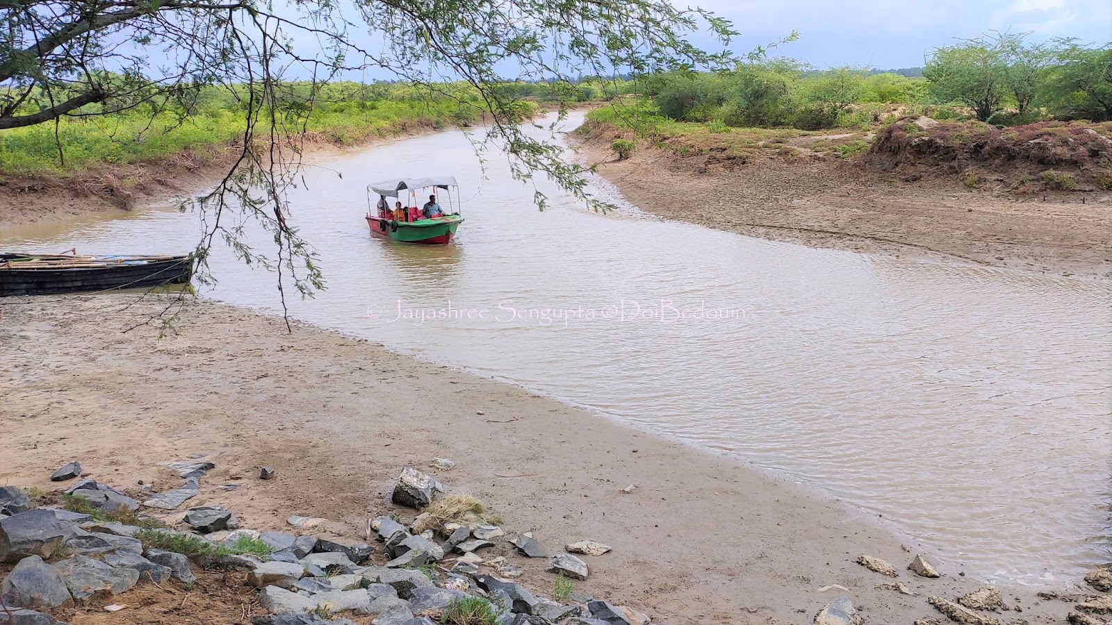 The small dock wherefrom the boat ride is initiated, bichitrapur, doibedouin