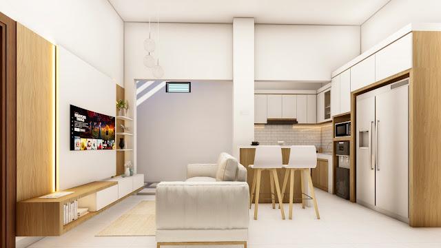 Jasa Desain Rumah Ukuran 6x12 Dengan 3 Kamar Terbaru 2021