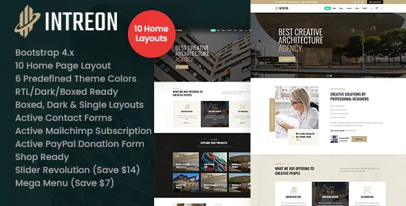 Best Interior & Architecture HTML Template