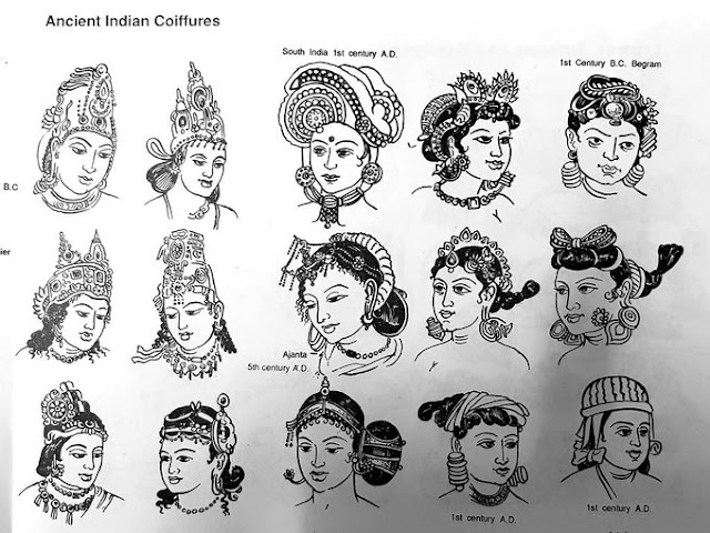 Ancient Indian Hair-Styles