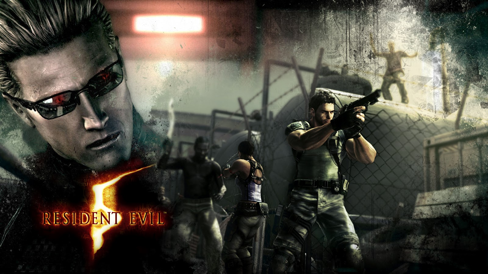 Wallpapers HD: Wallpapers Juego Resident Evil 4 Y 5 HD