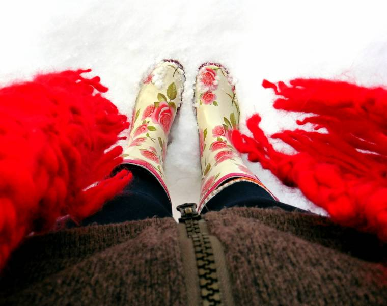 Guess It's Back (The Snow That Is): Wellies Ready