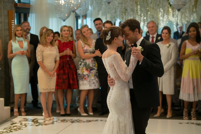 FIFTY SHADES FREED Will Feature a Monique Lhuillier Wedding Gown and Veil Specially-Designed for Anastasia Steele