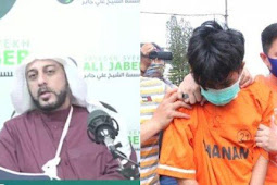 Syekh Ali Jaber Doakan Anak Alpian: Semoga Jadi Penghafal Al-Quran