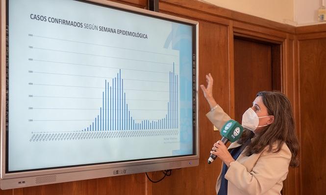 Nadal presentó el informe sobre la situación sanitaria de Mendoza