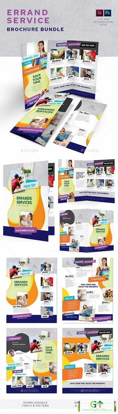 Errand Service Print Bundle [Powerpoint] [Indesign & Powerpoints]