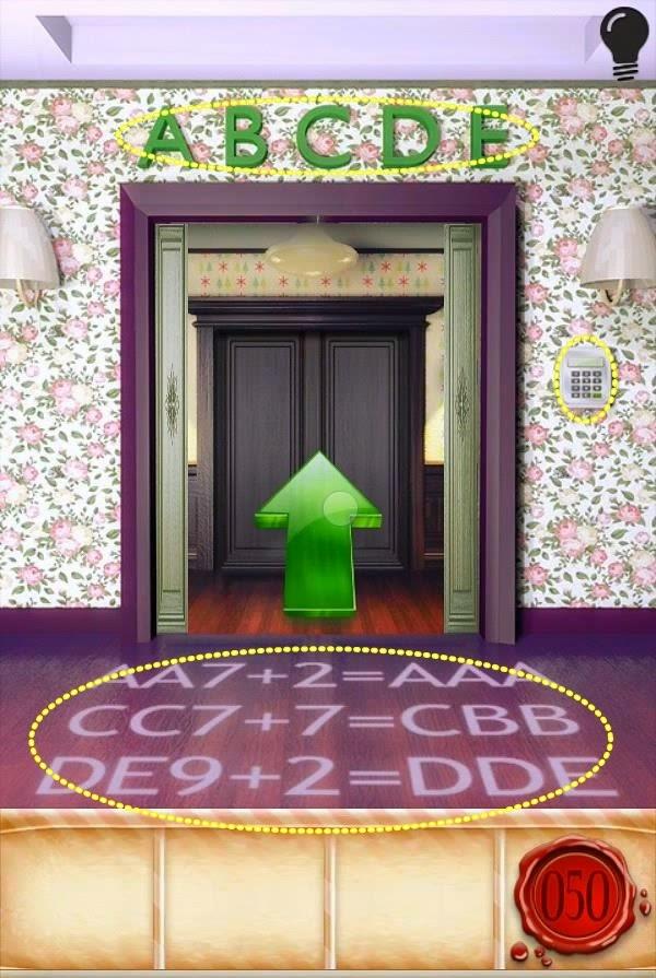 Best game app walkthrough: 100 Doors Seasons Level 46 47 48 49 50