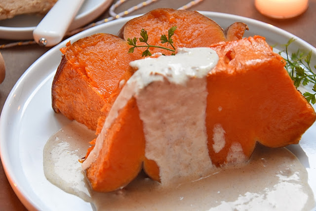 courge foie gras pain d epice