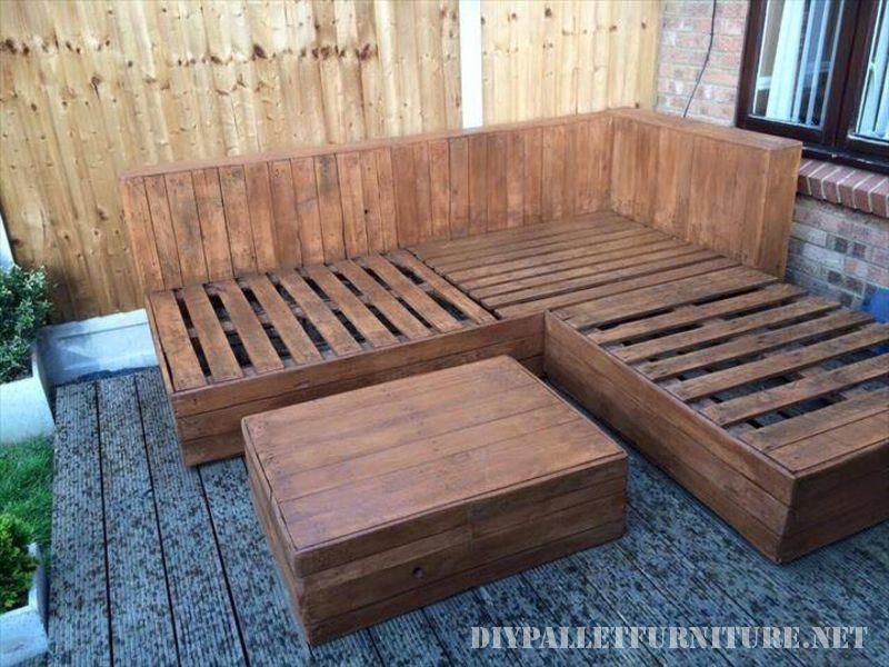 Sof exterior esquinero para una terraza for Terrazas con sofas