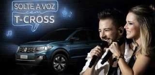 Promoção Volkswagen Ingressos Sandy e Junior Solte a Voz com T-Cross - Cadastro
