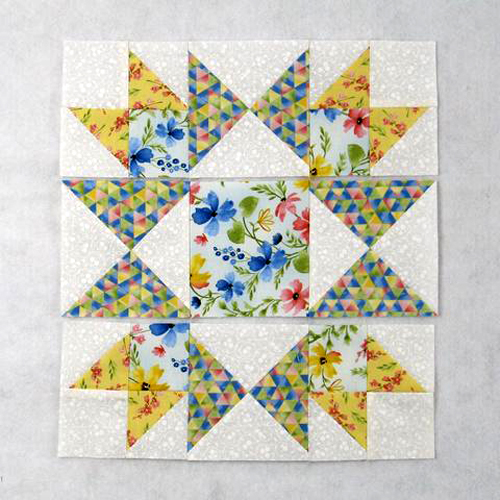 The Honeymoon Quilt Block - Free Pattern