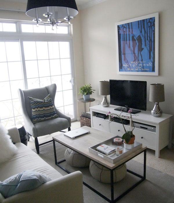 küçük odalar için dekorasyon önerileri