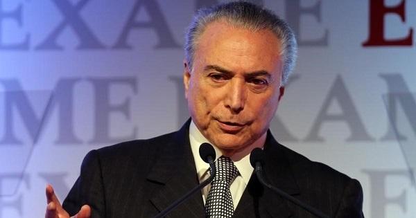 Defensa de Rousseff acusa a Temer de recibir fondos ilegales