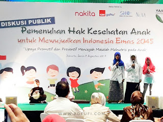 Pemenuhan hak kesehatan anak 2017