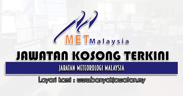 Jawatan Kosong 2021 di Jabatan Meteorologi Malaysia