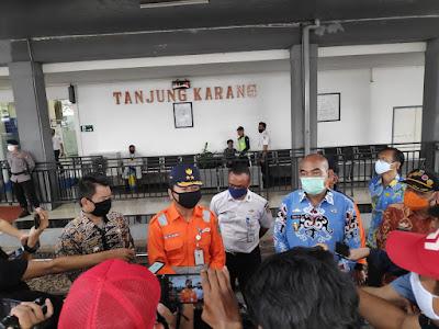 Pemprov Lampung dan Divre IV Stasiun Tanjung Karang Lakukan Simulasi Penanganan Covid-19
