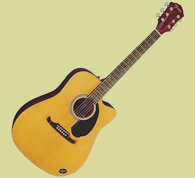 Violão o instrumento prático na produção de sons musicais lindos.