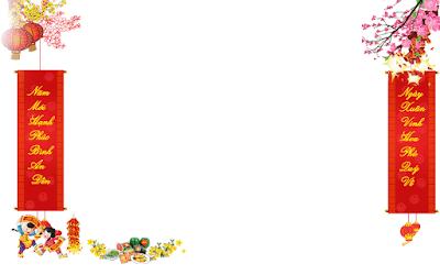 Một số hiệu ứng trang trí tết đẹp cho blogspot
