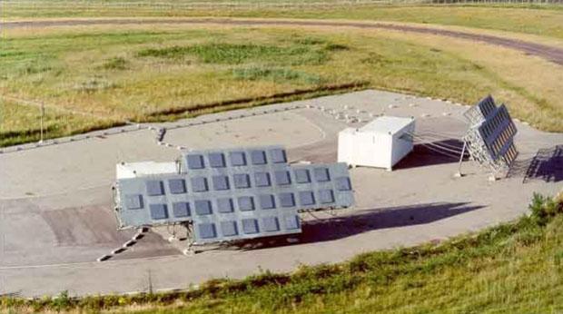 GRAVES transmit antenna array
