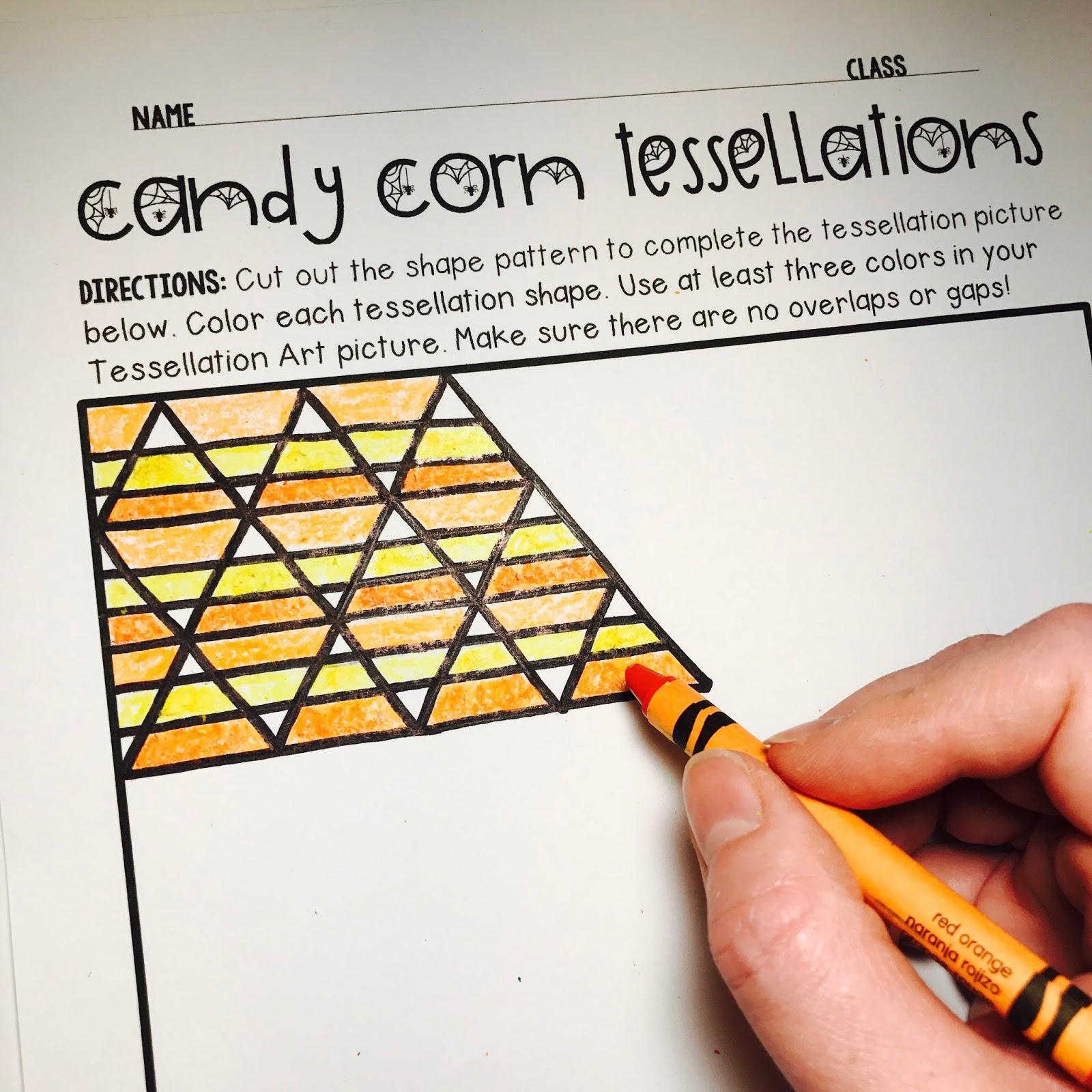 Tessellation Worksheet Grade 2