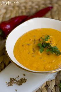 (zupa marchewkowa z soczewica