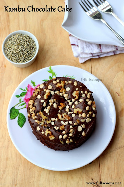 Pearl Millet Chocolate Cake