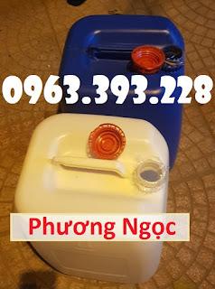 Can nhựa đựng hóa chất 30 Lít, can nhựa có nắp garenty 4891217ed2ad2bf372bc