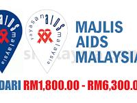 Majlis AIDS Malaysia - Gaji RM1,800 - RM6,300