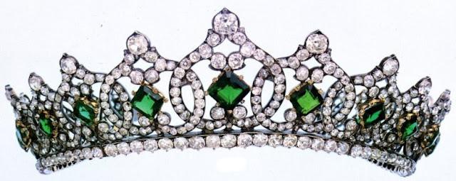 emerald tiara princess helene orleans savoy duchess aosta