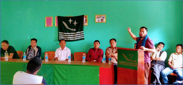Sanjok Gurung GNLF youth wing
