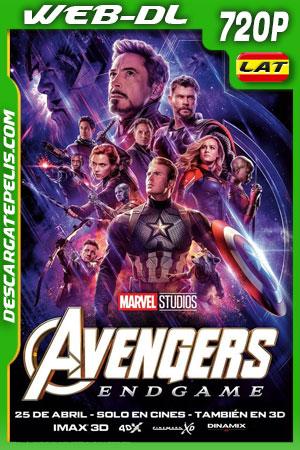 Avengers: Endgame (2019) 720p WEB-DL Latino – Ingles