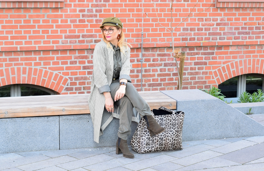 Trenfarben des Utility Looks / Outfit Utility Style