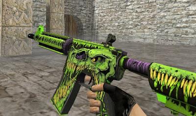 Skin M4A4 - Toxicator (CS:GO) HD para CS 1.6