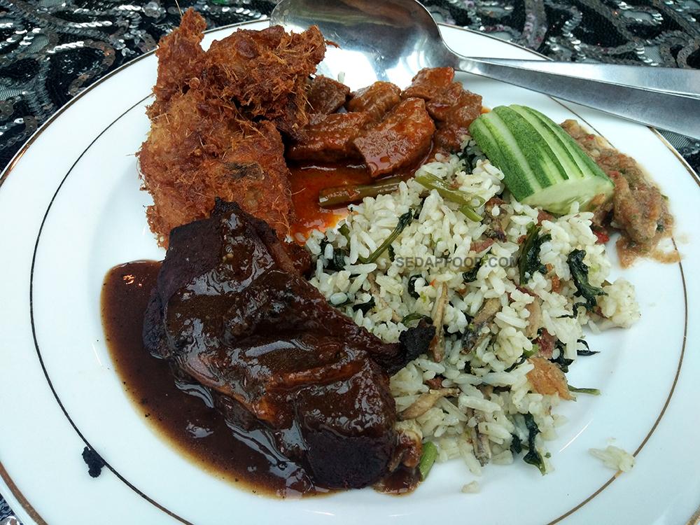 Makanan pilihan berbuka puasa kat Kapal Cruise Tasik Putrajaya