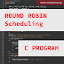 C Program to Simulate Round Robin CPU Scheduling Algorithm (With Detailed Comments - Simplest Method)