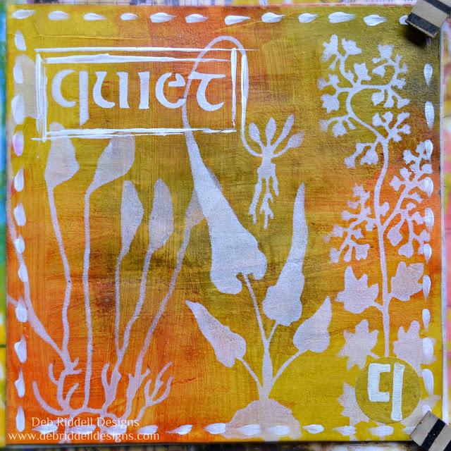 Quiet Art Journal Page
