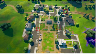 Place warning signs fortnite dirty docks, Where to put warning signs in Fortnite