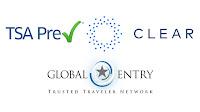 TSA Pre Clear Global Entry