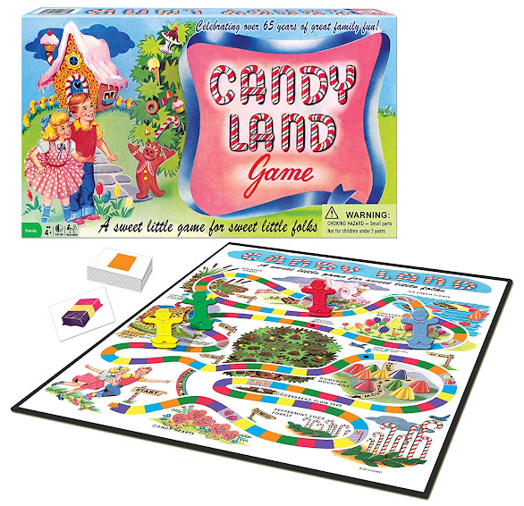 What girls remember playing Candy Land as a youngster? Did you know you can buy a new copy of the game or, of course, a vintage copy?