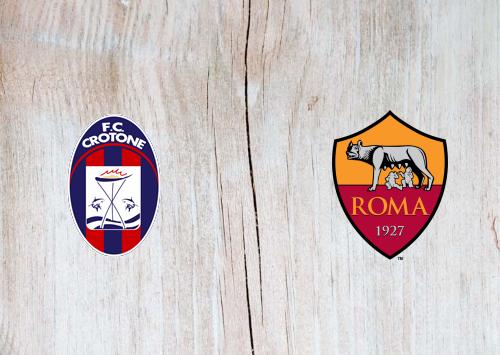 Crotone vs Roma -Highlights 06 January 2021