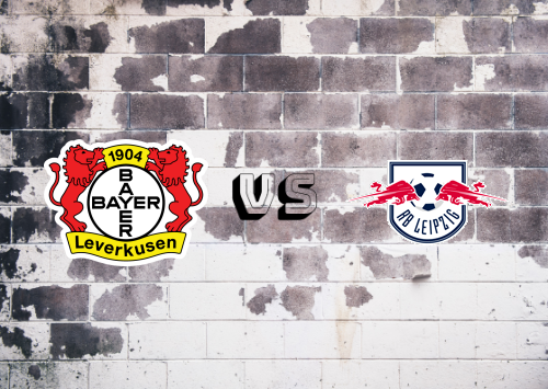 Bayer Leverkusen vs RB Leipzig  Resumen