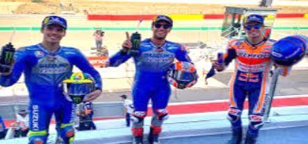 Duo Suzuki Berjaya di Hasil Motogp Aragon 2020