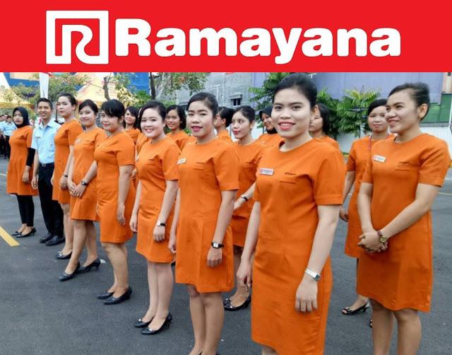 Lowongan Kerja SMA/SMK, D3, S1 Karyawan PT Ramayana Lestari Sentosa, Tbk. Posisi: Sales Executive, Magang Accounting, Admin Data Entry, Etc.