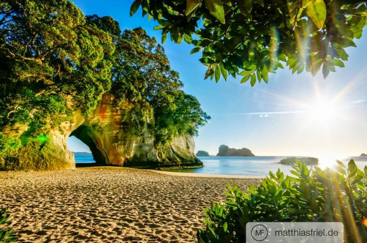 27. Cathedral Cove Beach, Coromandel Peninsula, New Zealand - 29 Most Exciting Beaches to Visit